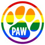 colorful paw logo