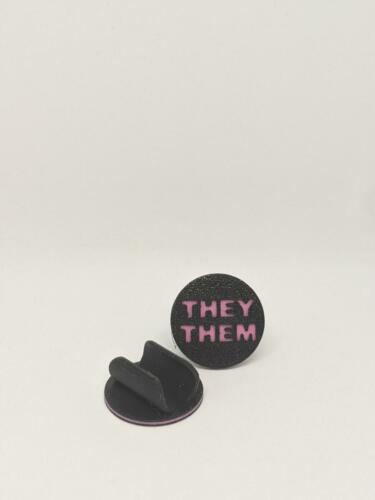Black They/Them clip